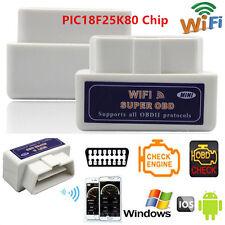 Super Mini ELM327 WiFi OBD2 Car Diagnostics Scanner Scan Tool w/PIC18F25K80 Chip