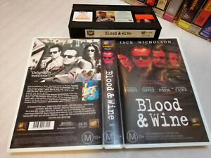 BLOOD & WINE (1996) - RARE Australian 20th Century Fox release - Crime Thriller!