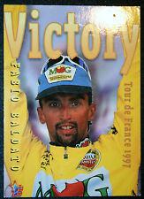 Tour de France  Cycling  Baldato  Maglificio MG Technogym    Action Card VGC