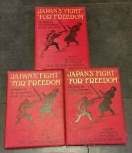 Japan's Fight For Freedom (1904) Volumes 1-3 By H.W.Wilson