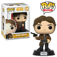 Han Solo Funko Pop Figure Official Solo A Star Wars Movie Bobble-Head