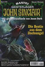 JOHN SINCLAIR Nr. 2090 - Die Bestie aus dem Dschungel - Ian Rolf Hill - NEU