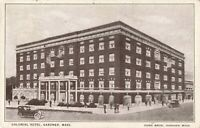 Postcard Colonial Hotel Gardner Massachusetts