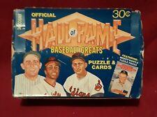 1983 Donruss Hall Of Fame Baseball Greats  Box 41 Packs