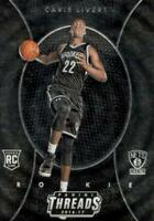 Caris LeVert 2016-17 Panini Threads Etch Rookie RC #268 Brooklyn Nets