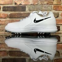 Nike Air Zoom Accurate White Black Metallic Silver Mens Size 9.5 909723-100