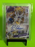 Patrick Queen Rookie Auto RC Autograph Baltimore Ravens LSU 2020 Panini SP 🔥🔥