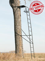 15' Ladder Tree stand Deer Hog Turkey Bear Hunting single seat