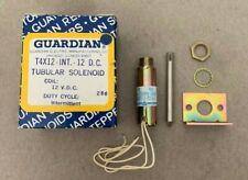 NOS Guardian Electric A420-066012-00 T4X12 - I - 12VDC Tubular Solenoid