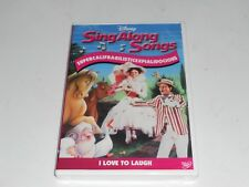DISNEY SING ALONG SONGS MARY POPPINS LOVE TO LAUGH DVD BRAND NEW SEALED
