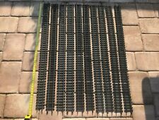 """G Scale - Aristocraft - Lot of (10) 4.5ft 54"""" Straight Brass Track Sections"""