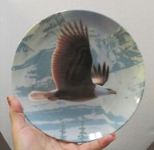 The Majestic Birds – Collector's Plate - The Bald Eagle 1988 New in Box