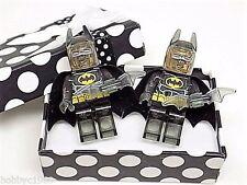 Handmade LEGO® Batman Transparent Cufflinks, Gift Boxed + Free Shipping!