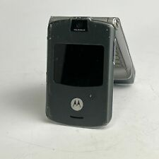 "Motorola Razer V3 Gray Handheld T-Mobile 2.2"" Tft Display 0.3Mp Camera Cellphone"