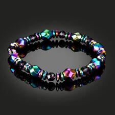 Neutral Colours Black Lodestone Stone Bracelet Handmake Beads Jewelry bracelets