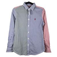 Polo Ralph Lauren Women's Bengal Fun Long Sleeve Button Up Shirt Size 4 New