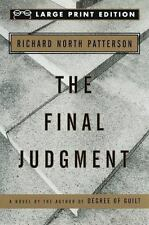 The Final Judgment by Richard North Patterson (1995, Paperback, Large Type)
