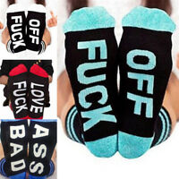Xmas UnisexCasual Sports Cotton Long Socks Womens Mens Funny Socks