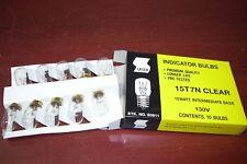 Qty 10  Satco S3911 - 15 watt T7 Incandescent Bulb, Clear, Intermediate Base NEW