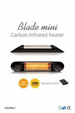 VEITO BLADE MINI Infrared Patio Heater (IP55) Indoor and Outdoor Black