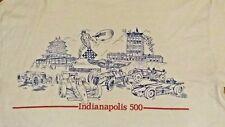1990s Indianapolis Motor Speedway Racing T Shirt Sprint Open Wheel Sz 44 Usa