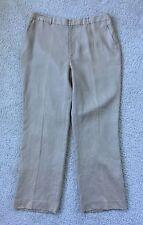LAUREN Ralph Lauren Pants Beige 100% Linen Size 16