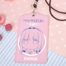 Miss Kobayashi's Dragon Maid Kanna Kamui Bank Bus Card Case Holder Cos Gift