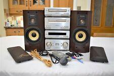 Technics SE-HD560 Mini Hi Fi System CD, Cassette Tape, FM/AM Tuner, Bluetooth