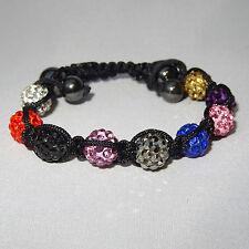 Shambala Crystal Beads Bracelet Jewellery gift for ladies women girls