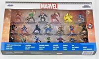 "Jada * Marvel 20-Piece Set * Nano Metalfigs Metal Mini Figures 20-Pack 1 2/3"""