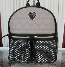 Betsey Johnson Backpack Spots Dots 2 Pocket Medium Bag NWT