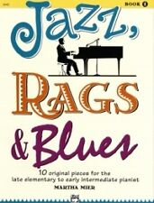 JAZZ RAGS & BLUES Book 1 Mier Piano*