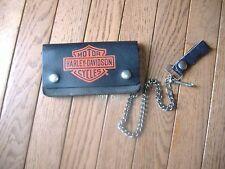 Vintage Harley Davidson trucker wallet and card lot