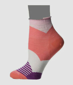 $47 Smartwool Women's Pink Herringbone Low Cut 1-Pair Mini Boot Socks Size M