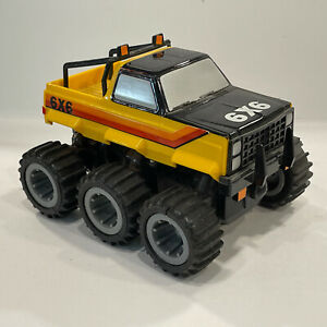 Ideal CBS Toys 6x6 High Hi Risers Jeep Monster Stomper Truck 1983