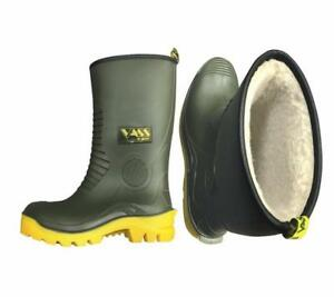 NEW VASS NEW WINTER FUR LINED R BOOT / FISHING BOOT 3/4 LENGTH