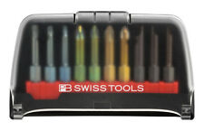 PB Swiss Tools PB E6.989 Screwdriver Bit Set Slotted/Phillips/PoziDriv/Torx