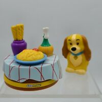 Fisher Price Disney Little People Lady and Tramp Tramp Lady & Dinner Table Only
