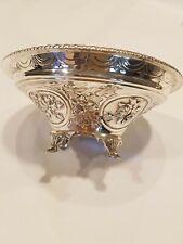 1888 LondonJ.N.M Mappin & Webb Sterling Silver Bon Bon Dish.