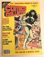 COMICS COLLECTOR MAGAZINE - Spring 1985 - John Byrne She Hulk Cover Art Vintage