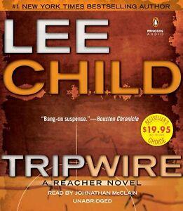 Lee Child (Jack Reacher) TRIPWIRE Unabridged CD *NEW* FAST Ship!
