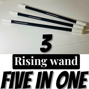 RISING MAGIC Wand (3) FIVE Tricks in ONE! Easy to Do! Magic Trick Easy to Do!