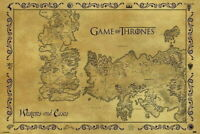 60763 GAME OF THRONES MAP Wall Print POSTER CA