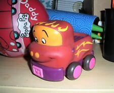 "Battat  Just B Soft Car Pull Back Toddler Toy Car TRUCK  5"""