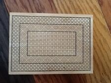 Outlines large rubber stamp Geometric background pattern  NEW Hard to find!