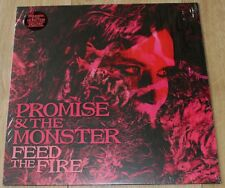 Promise & The Monster - Feed The Fire (2016) - A Fine LP - Ltd Pink Vinyl -Indie