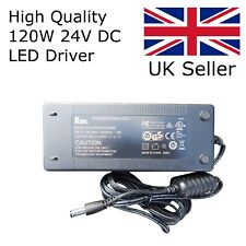 120W 24V DC 5A LED Driver - Ideal for LED Strip - High Quality TUV Tested