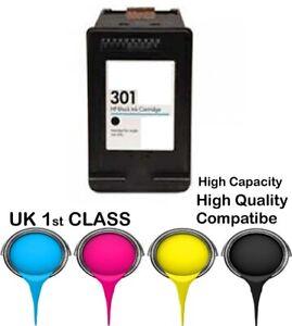 REMANUFATURED hp301 black cartridge for HP printer
