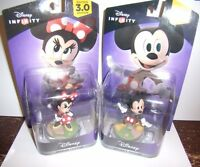 DISNEY INFINITY 3.0 Mickey & Minnie Mouse Figure Character Sealed Brand New Fast