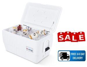 lgloo 48-Quart Marine Ultra Ice Chest Cooler - White